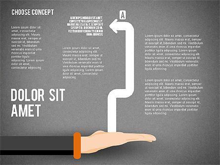 Choice Concept, Slide 13, 02315, Stage Diagrams — PoweredTemplate.com