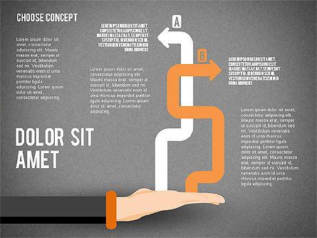 Choice Concept, Slide 14, 02315, Stage Diagrams — PoweredTemplate.com