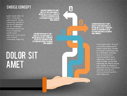 Choice Concept, Slide 15, 02315, Stage Diagrams — PoweredTemplate.com