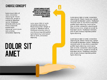 Choice Concept, Slide 5, 02315, Stage Diagrams — PoweredTemplate.com
