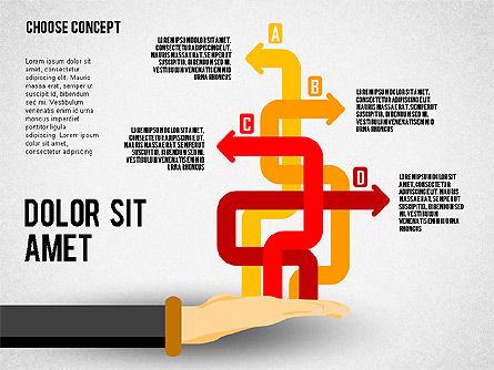 Choice Concept, Slide 8, 02315, Stage Diagrams — PoweredTemplate.com