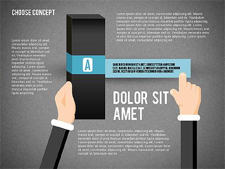 Choice Concept, Slide 9, 02315, Stage Diagrams — PoweredTemplate.com