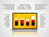 Presentation Templates: Presentación con las formas planas coloridas (datos conducidos) #02319