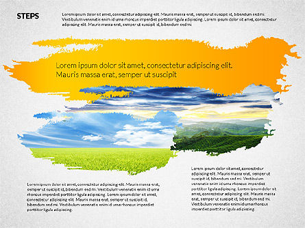 Presentation Templates: Four Steps Ecology Presentation #02320