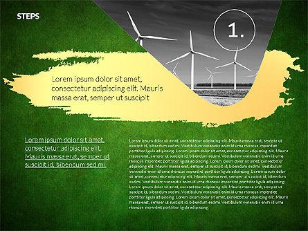 Four Steps Ecology Presentation, Slide 10, 02320, Presentation Templates — PoweredTemplate.com