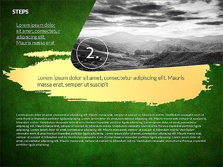 Four Steps Ecology Presentation, Slide 11, 02320, Presentation Templates — PoweredTemplate.com