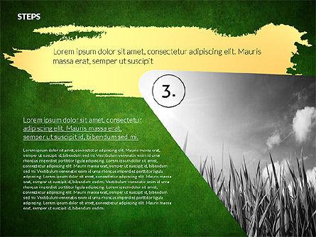 Four Steps Ecology Presentation, Slide 12, 02320, Presentation Templates — PoweredTemplate.com