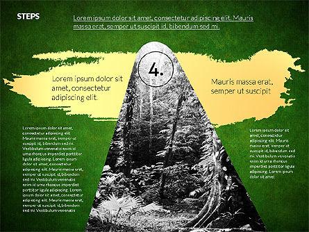 Four Steps Ecology Presentation, Slide 13, 02320, Presentation Templates — PoweredTemplate.com