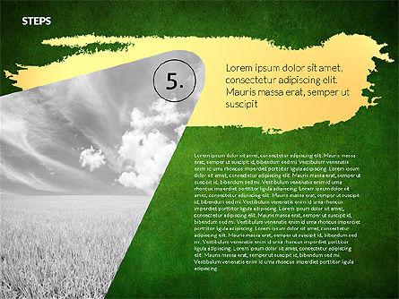 Four Steps Ecology Presentation, Slide 14, 02320, Presentation Templates — PoweredTemplate.com