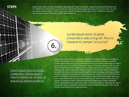 Four Steps Ecology Presentation, Slide 15, 02320, Presentation Templates — PoweredTemplate.com
