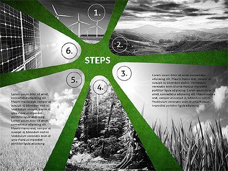 Four Steps Ecology Presentation, Slide 16, 02320, Presentation Templates — PoweredTemplate.com