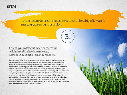 Four Steps Ecology Presentation, Slide 4, 02320, Presentation Templates — PoweredTemplate.com