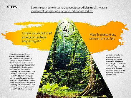 Four Steps Ecology Presentation, Slide 5, 02320, Presentation Templates — PoweredTemplate.com