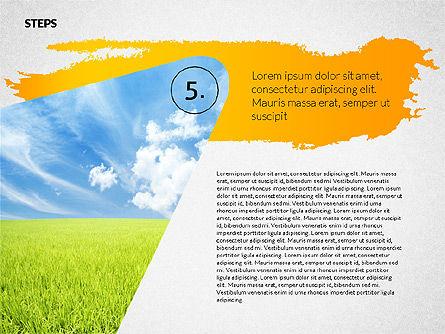 Four Steps Ecology Presentation, Slide 6, 02320, Presentation Templates — PoweredTemplate.com