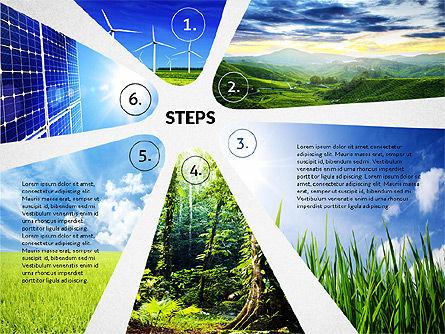 Four Steps Ecology Presentation, Slide 8, 02320, Presentation Templates — PoweredTemplate.com