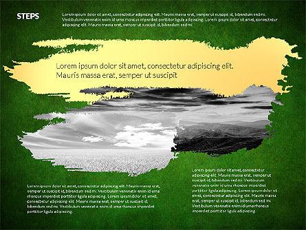 Four Steps Ecology Presentation, Slide 9, 02320, Presentation Templates — PoweredTemplate.com