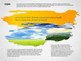 Presentation Templates: Four Steps Ecology Presentation #02320