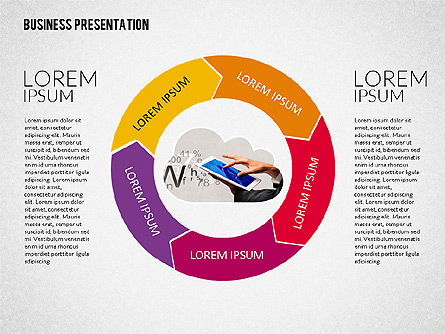 Colorful and Stylish Presentation Template, Slide 3, 02322, Presentation Templates — PoweredTemplate.com