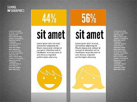 Modern School Infographics, Slide 10, 02327, Infographics — PoweredTemplate.com