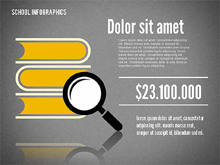 Modern School Infographics, Slide 11, 02327, Infographics — PoweredTemplate.com