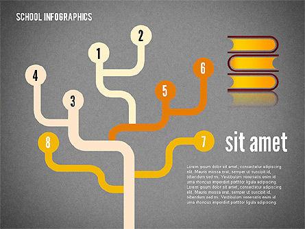 Modern School Infographics, Slide 12, 02327, Infographics — PoweredTemplate.com
