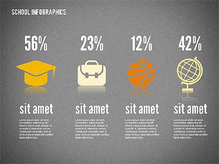 Modern School Infographics, Slide 13, 02327, Infographics — PoweredTemplate.com