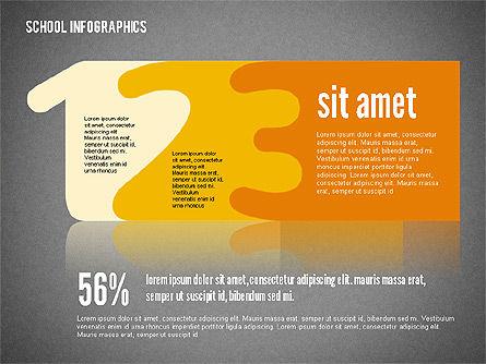 Modern School Infographics, Slide 15, 02327, Infographics — PoweredTemplate.com