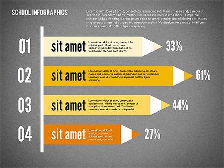 Modern School Infographics, Slide 16, 02327, Infographics — PoweredTemplate.com