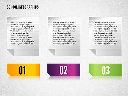 Modern School Infographics, Slide 6, 02327, Infographics — PoweredTemplate.com