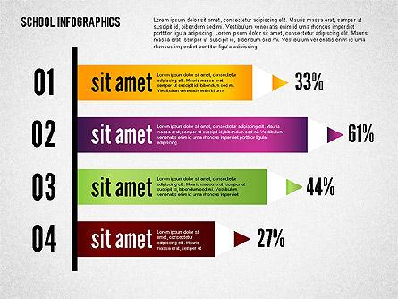 Modern School Infographics, Slide 8, 02327, Infographics — PoweredTemplate.com