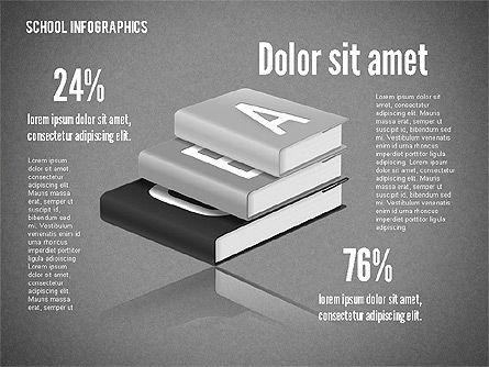 Modern School Infographics, Slide 9, 02327, Infographics — PoweredTemplate.com