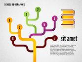 Modern School Infographics#4