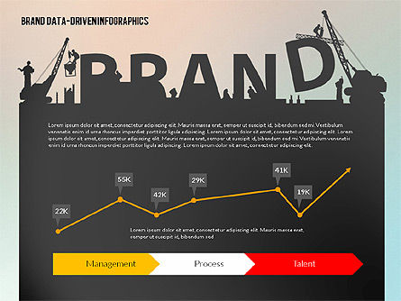 Building Brand Presentation Template (data driven), 02332, Presentation Templates — PoweredTemplate.com