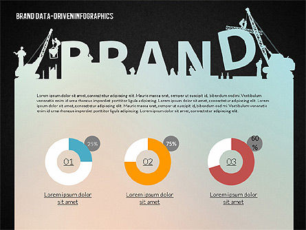Building Brand Presentation Template (data driven), Slide 10, 02332, Presentation Templates — PoweredTemplate.com