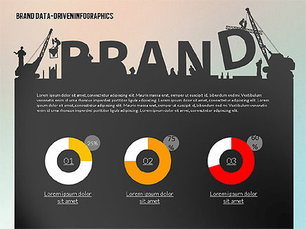 Building Brand Presentation Template (data driven), Slide 2, 02332, Presentation Templates — PoweredTemplate.com