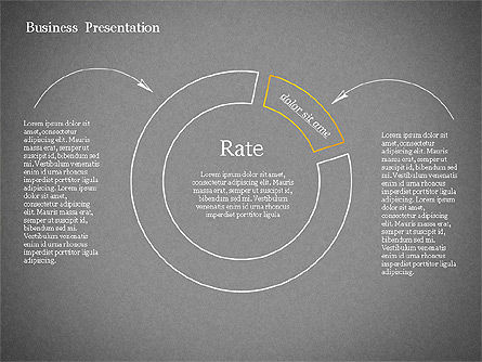 Sketch Style Presentation Template, Slide 12, 02334, Presentation Templates — PoweredTemplate.com