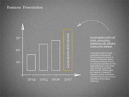 Sketch Style Presentation Template, Slide 14, 02334, Presentation Templates — PoweredTemplate.com