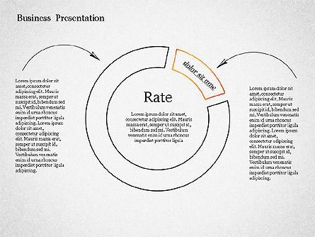 Sketch Style Presentation Template, Slide 4, 02334, Presentation Templates — PoweredTemplate.com
