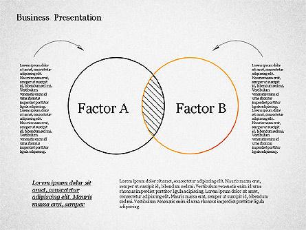 Sketch Style Presentation Template, Slide 5, 02334, Presentation Templates — PoweredTemplate.com