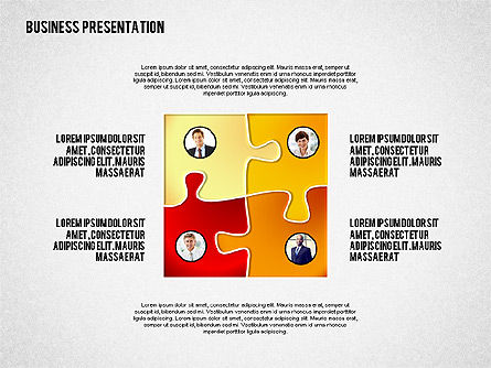 Presentation Templates: Business Presentation with Character #02339