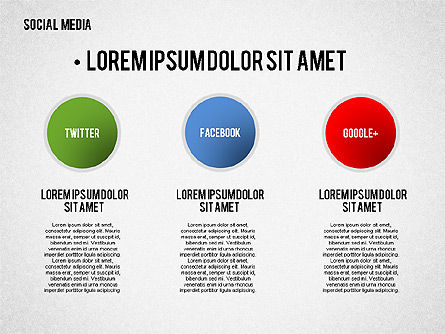 Social Media Presentation Template Slide 4