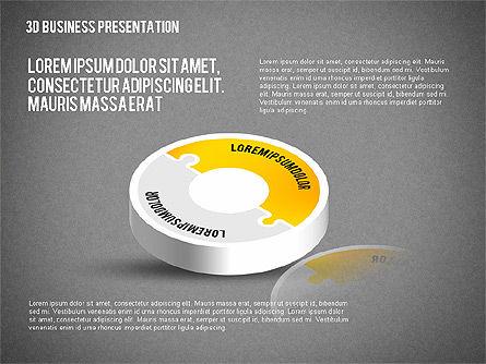 3D Business Presentation, Slide 10, 02341, Presentation Templates — PoweredTemplate.com
