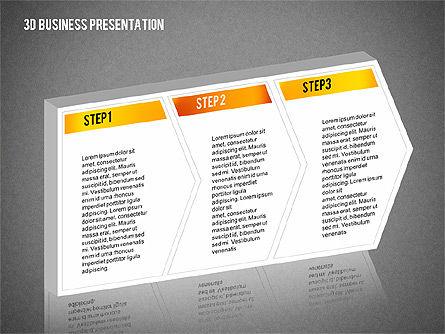 3D Business Presentation, Slide 12, 02341, Presentation Templates — PoweredTemplate.com