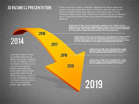3D Business Presentation, Slide 13, 02341, Presentation Templates — PoweredTemplate.com