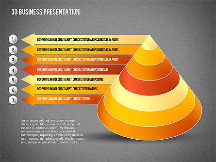 3D Business Presentation, Slide 16, 02341, Presentation Templates — PoweredTemplate.com