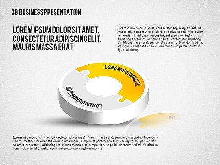 3D Business Presentation, Slide 2, 02341, Presentation Templates — PoweredTemplate.com