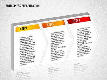 3D Business Presentation, Slide 4, 02341, Presentation Templates — PoweredTemplate.com