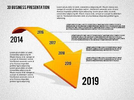 3D Business Presentation, Slide 5, 02341, Presentation Templates — PoweredTemplate.com