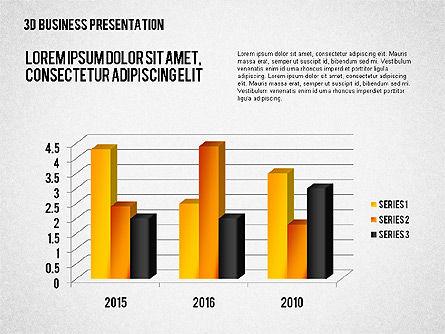 3D Business Presentation, Slide 6, 02341, Presentation Templates — PoweredTemplate.com
