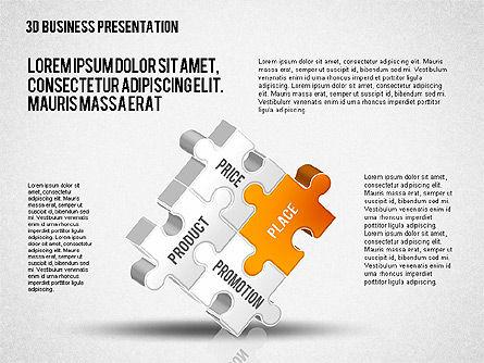 3D Business Presentation, Slide 7, 02341, Presentation Templates — PoweredTemplate.com